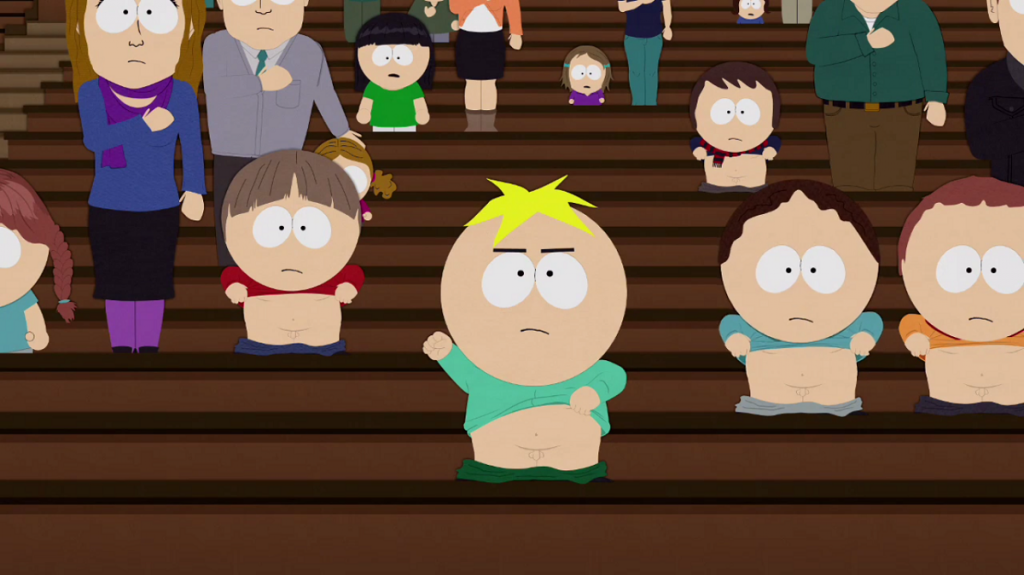 south park butters wienners out